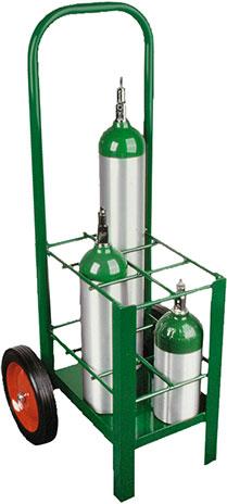 Çoklu Oksijen Tüpü Taşıma Arabası