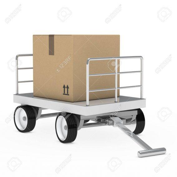 Koli Taşıma Arabası Paket Taşıma Arabası Ağır Yük Taşıma Arabası KL2