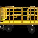 Havalimanı Bagaj Valiz Bavul Taşıma Arabası Römorku