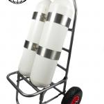 Scuba Tüp Taşıma Aparatı Dalış Tüpü Taşıma Arabası